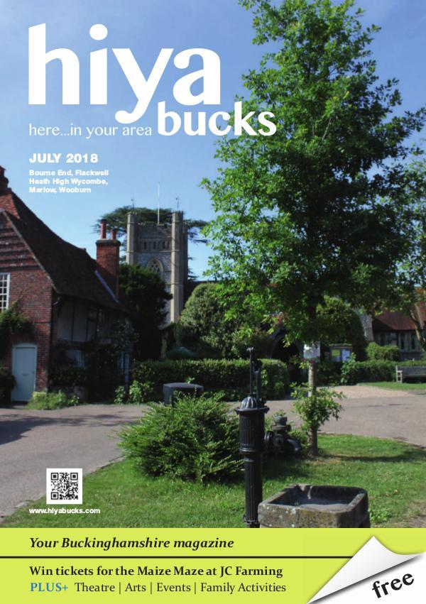 hiya bucks in Bourne End, Flackwell Heath, Marlow, Wycombe, Wooburn July 2018