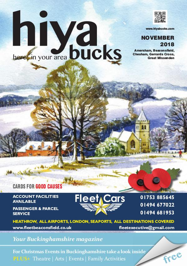 hiya bucks Amersham, Beaconsfield, Chesham, Gerrards Cross, Missenden November 2018