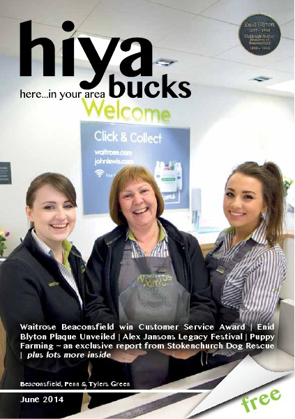 hiya bucks Amersham, Beaconsfield, Chesham, Gerrards Cross, Missenden June 2014