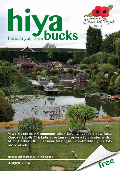 hiya bucks Amersham, Beaconsfield, Chesham, Gerrards Cross, Missenden August 2014