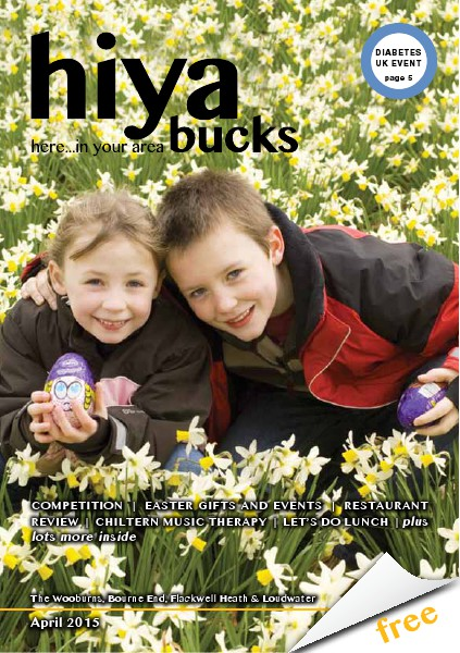 hiya bucks in Bourne End, Flackwell Heath, Marlow, Wycombe, Wooburn April 2015