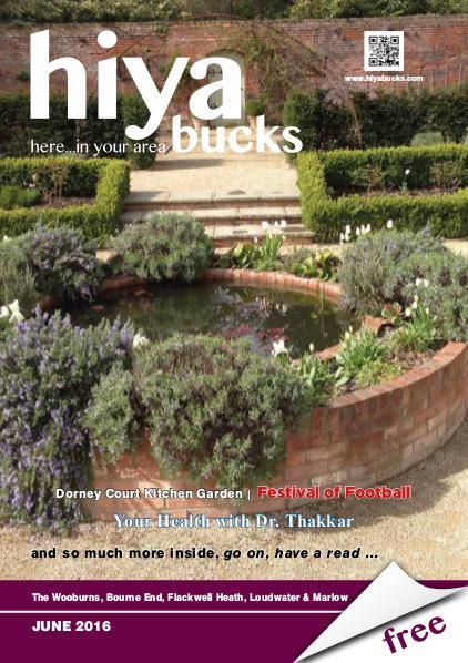 hiya bucks in Bourne End, Flackwell Heath, Marlow, Wycombe, Wooburn June 2016