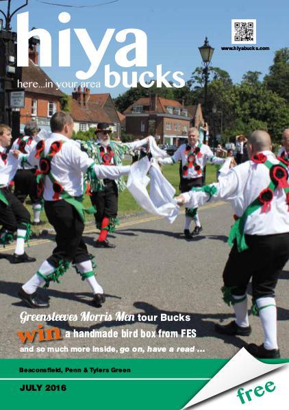 hiya bucks Amersham, Beaconsfield, Chesham, Gerrards Cross, Missenden July 2016