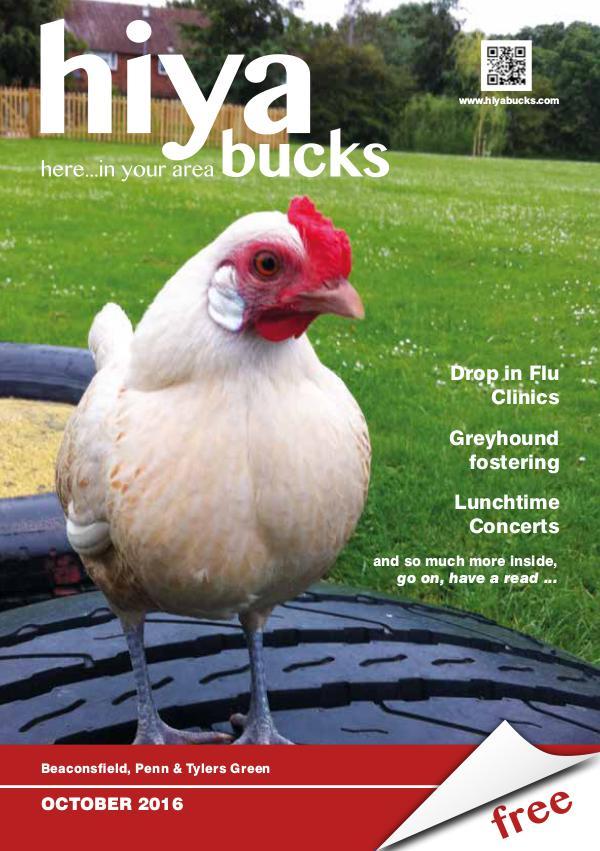 hiya bucks Amersham, Beaconsfield, Chesham, Gerrards Cross, Missenden October 2016