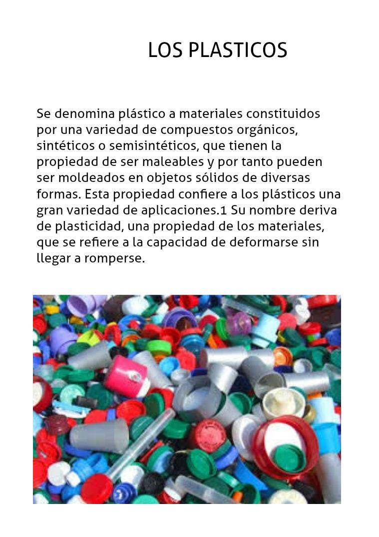 Los Plasticos :) SON NESESARIOS