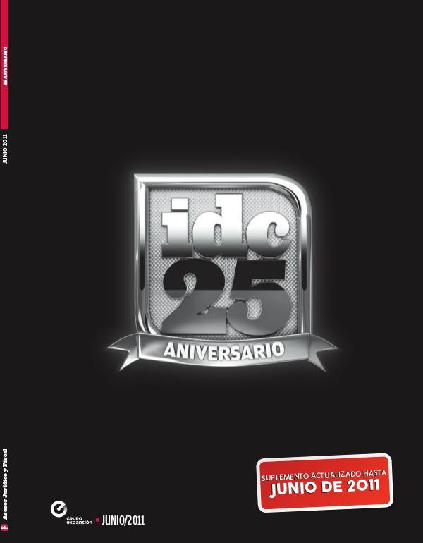 IDC 25 años - 2011