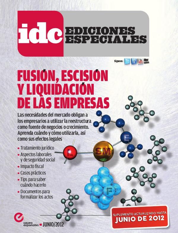 Fusión Escisión y Liquidación de las empresas 2012