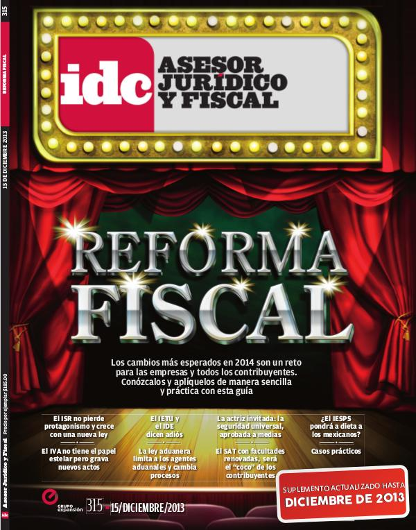 Reforma Fiscal - 2013