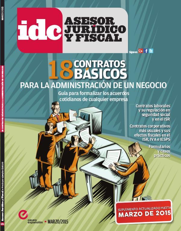 18 Contratos básicos - 2015