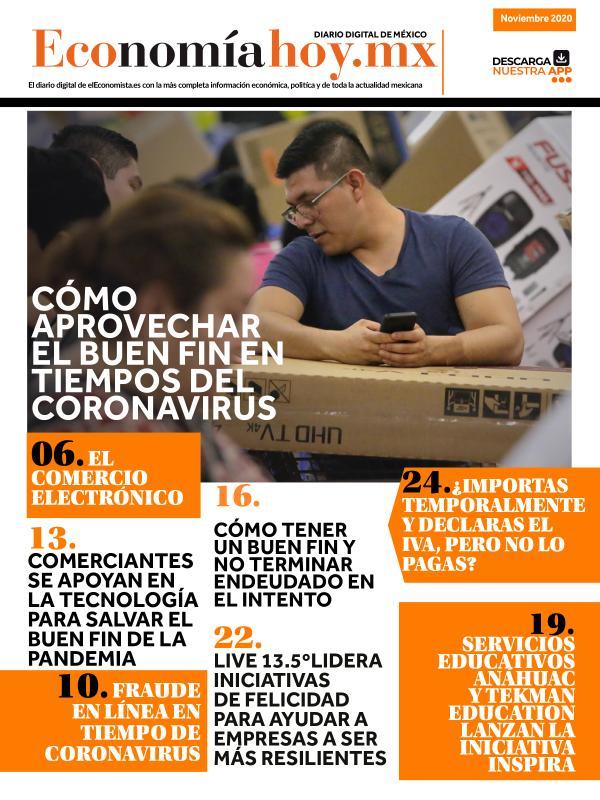 Economía Hoy Economía Hoy Edición 7 Noviembre 2020