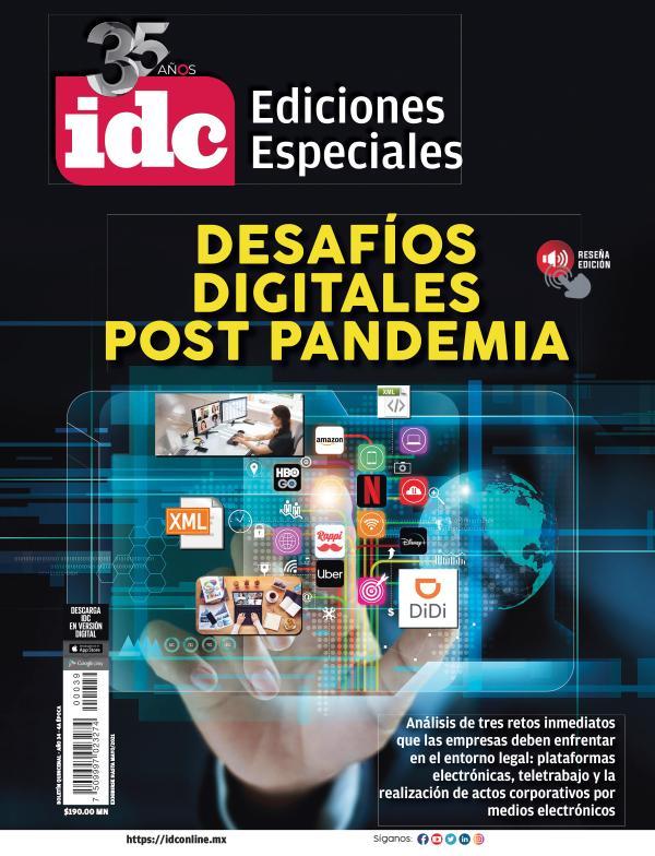 DESAFIOS DIGITALES POST PANDEMIA MARZO 2021
