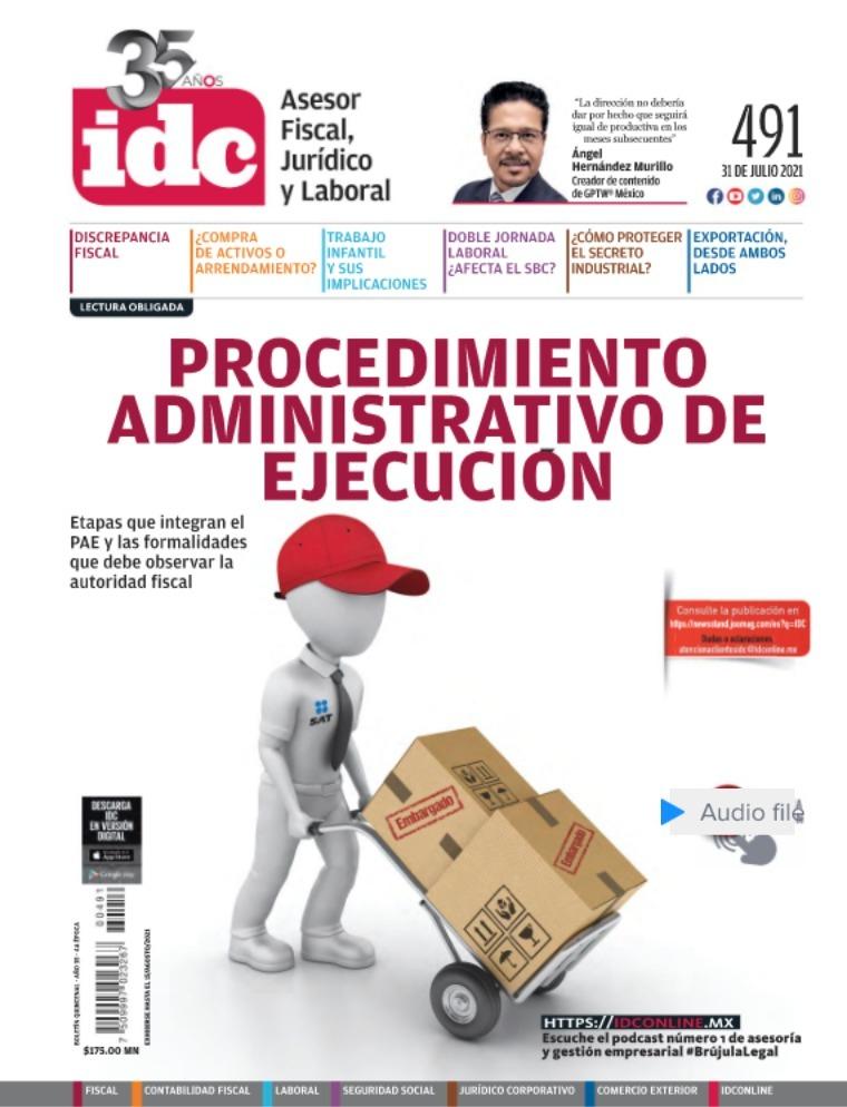 IDC 491 31-Julio-2021