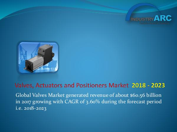 Analytics, Research & Consulting Valves, Actuators and Positioners Market