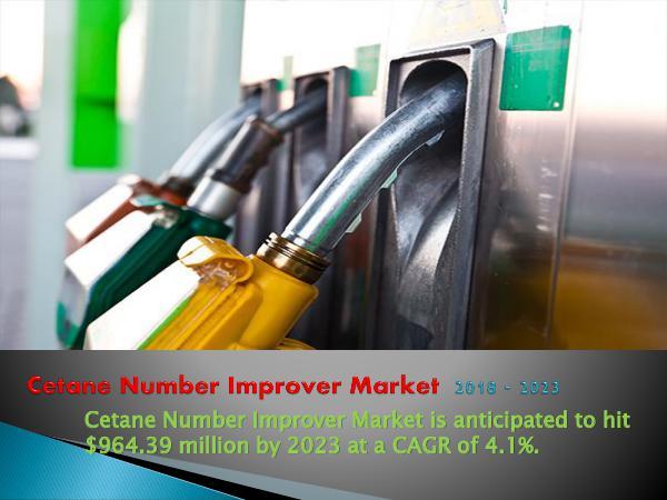 Cetane Number Improver Market Outlook by 2023