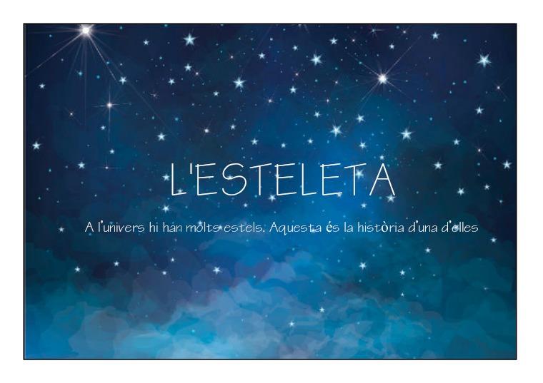L'ESTELETA (Un conte musical) Novembre 2018
