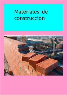 Materiales de construcción 2