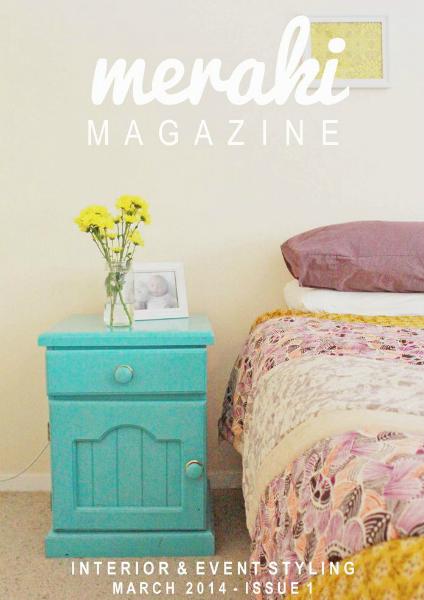 Meraki Magazine March 2014 Issue 1