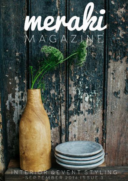 Meraki Magazine September 2014 Issue 3