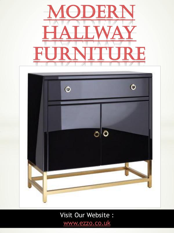 modern furniture Modern Hallway Furniture