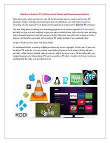 IPTV Stack, Premium Internet TV Subscription