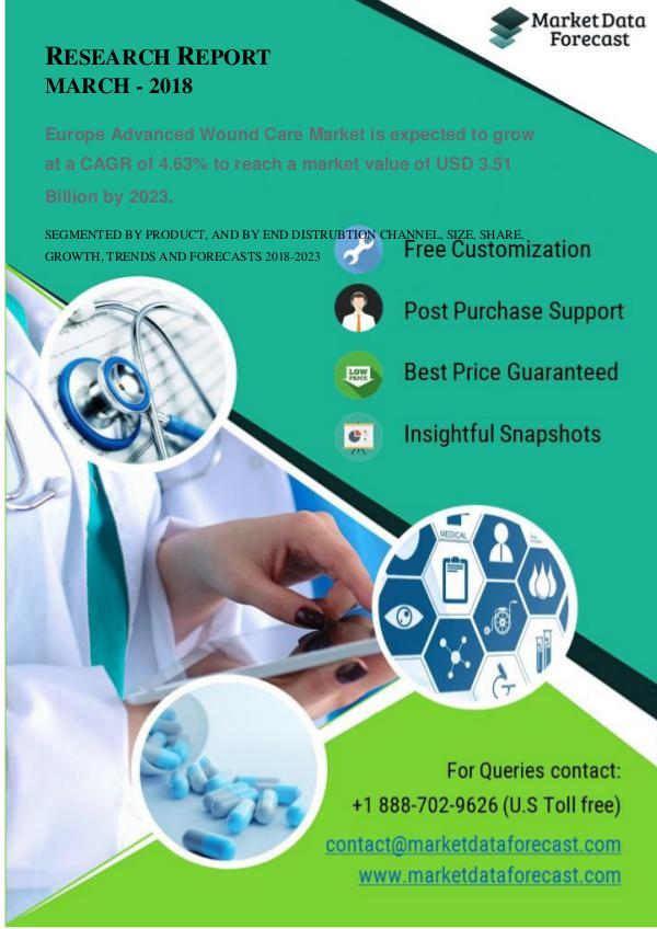 Future Market Trends of Europe Advanced Wound Care Market. Europe Advanced Wound Care Market
