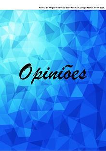 Opiniões