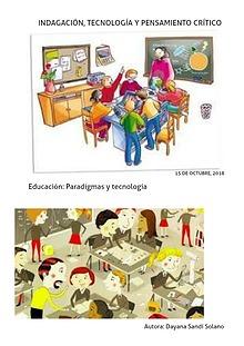 Principales paradigmas psicopedagógicos