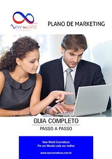 Brochura do plano de marketing da New World