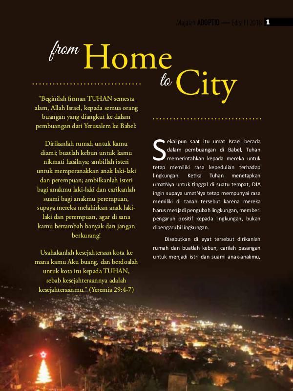ADOPTIO 2018 - MY Home Indonesia 3rd Edition