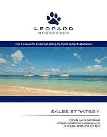 Michelle List with Leopard Brochure
