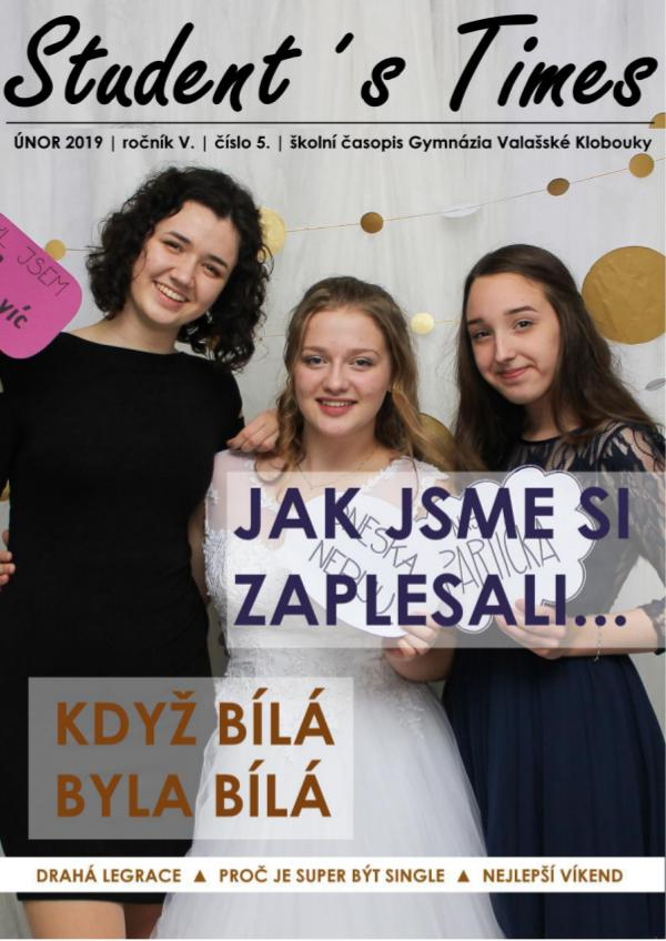 STUDENT´S TIMES 2019/02/18