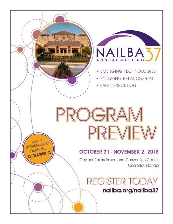 NAILBA Product Preview NAILBA 37 Product Preview