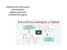 sistemas de numeracion conversion algebra de boole y compuertas logic