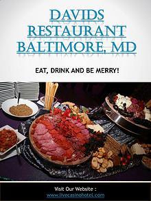 David's Restaurant Hanover, MD