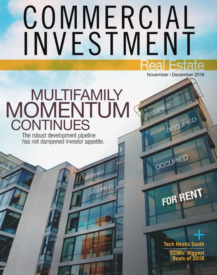 Commercial Investment Real Estate November/December 2018