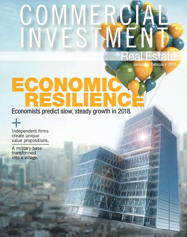 Commercial Investment Real Estate January/February 2018