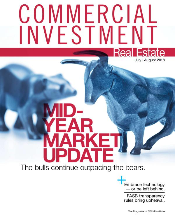 Commercial Investment Real Estate July/August 2018