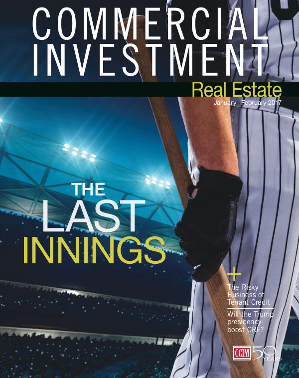 Commercial Investment Real Estate January/February 2017