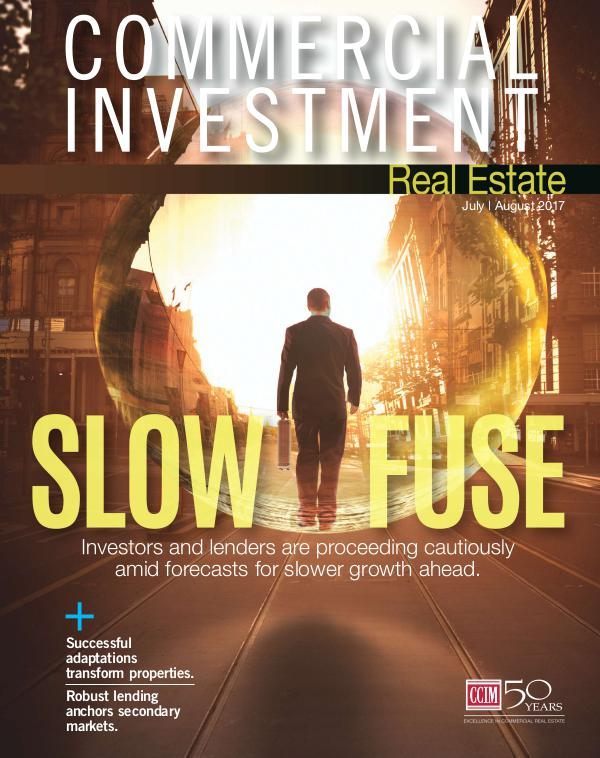 Commercial Investment Real Estate July/August 2017