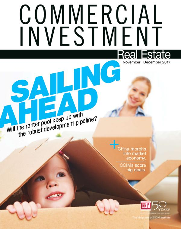 Commercial Investment Real Estate November/December 2017