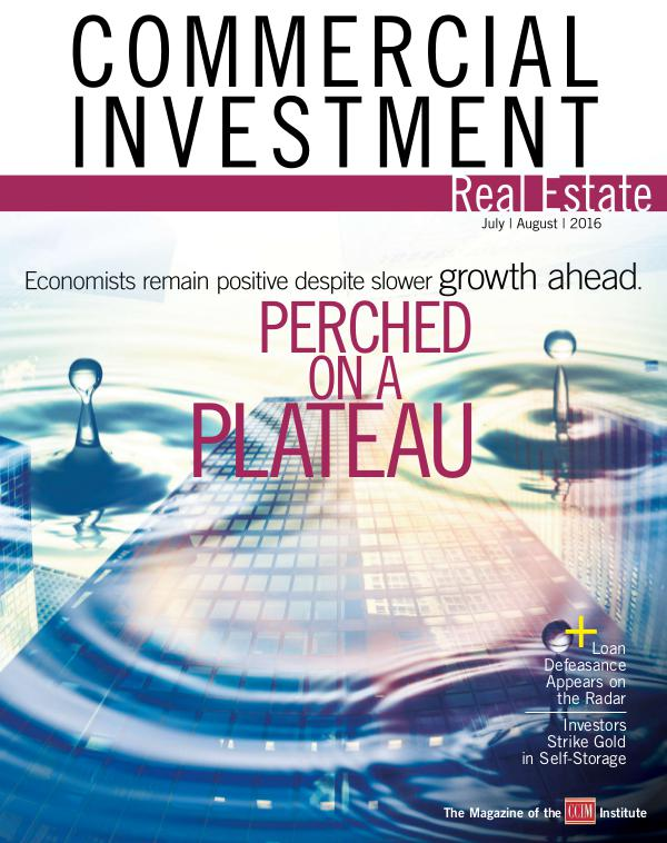 Commercial Investment Real Estate July/August 2016