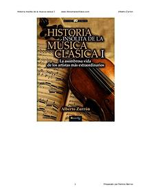 Historia sobre la música clásica.