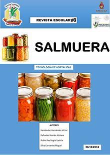 REVISTA ESCOLAR DE SALMUERA