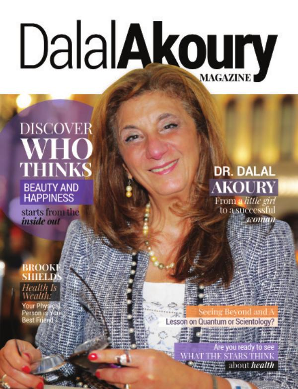 Dalal Akoury Special Edition Magazine Septiembre 2020