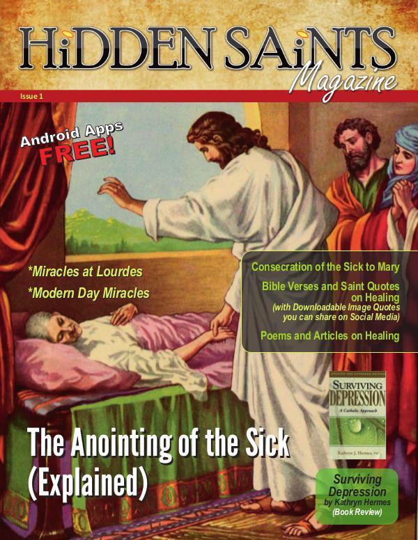 Hidden Saints Magazine Hidden Saints Issue 1