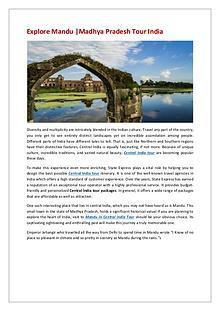 Explore Mandu | Madhya Pradesh Tour India