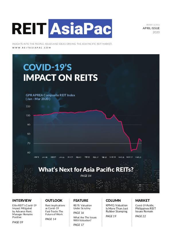REIT ASIAPAC MAGAZINE REITASIAPAC 1Q 2020 ISSUE