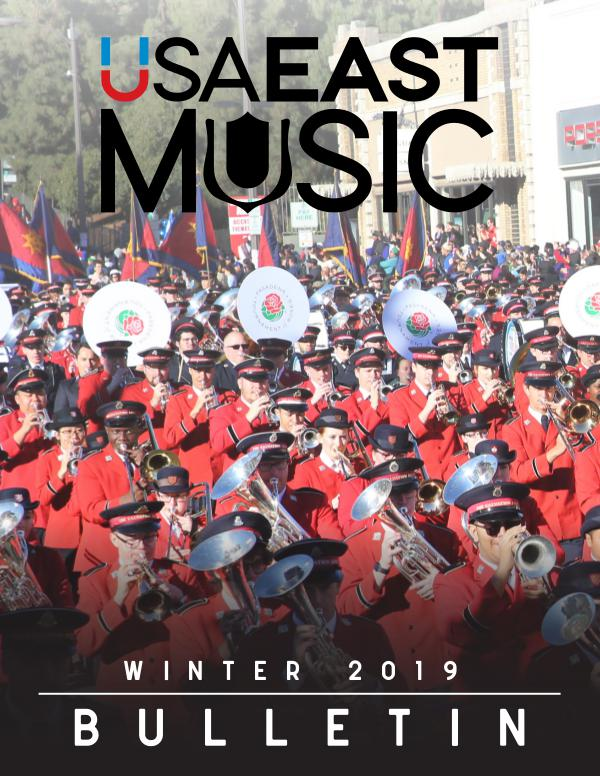 USA East Music BULLETIN - WINTER 2019 - ISSUE 1