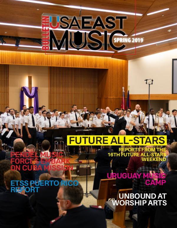USA East Music BULLETIN - SPRING 2019 - ISSUE 2