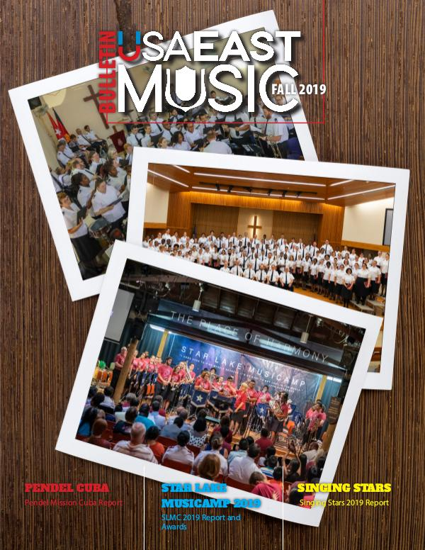 USA East Music BULLETIN - FALL 2019 - ISSUE 3